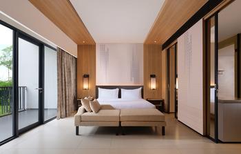 Hotel Santika Premiere Bandara Palembang - Premiere King Room Garden View Regular Plan