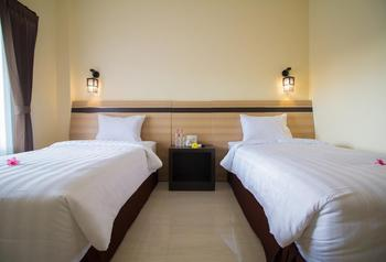 Puri Indah Hotel Subak Lombok - Superior Twin Room Only Regular Plan