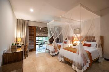 Svarga Loka Resort Bali - Deluxe Room Only Work From Bali