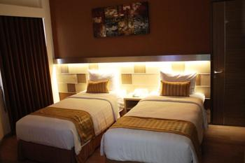 Ruby Hotel Syariah Bandung - Deluxe Twin Room Only Regular Plan