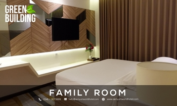 Senyum World Hotel Malang - Family Room  Regular Plan