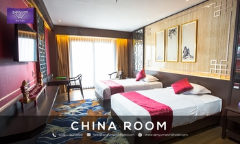 Senyum World Hotel Malang - Deluxe Chinese Room Only Regular Plan