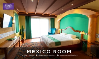 Senyum World Hotel Malang - Deluxe Mexican Room Regular Plan