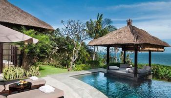 The Villas at AYANA Resort, BALI - 1 Bedroom Ocean Front Cliff Pool Villa Regular Plan