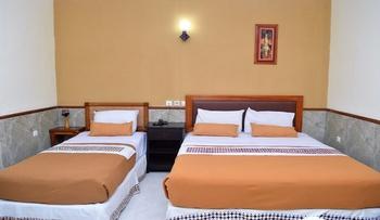 Hotel Mataram 2 Malioboro Yogyakarta - Family Room Only 1 Double Bed 1 Single Bed Regular Plan