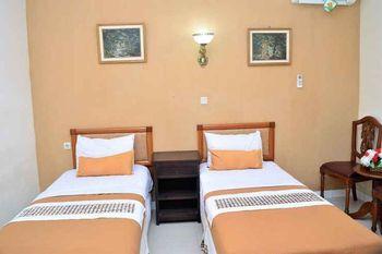 Hotel Mataram 2 Malioboro Yogyakarta - Deluxe Twin Room Only 2 Single Bed Regular Plan