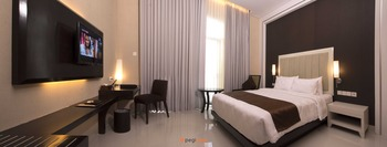 Gallery Prawirotaman Hotel Jogja - Deluxe Room Basic Promo