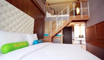 Grand Tebu Hotel by Willson Hotels Bandung - Family Loft Room Regular Plan