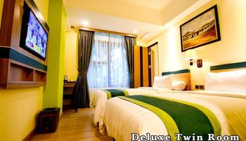 Green Batara Hotel Bandung - Deluxe Twin With Breakfast Regular Plan