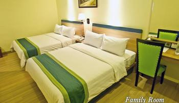 Green Batara Hotel Bandung - Family Room Only Regular Plan