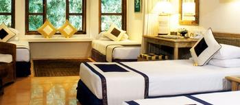 AlamKulKul Boutique Resort Bali - Quad Room with breakfast Basic Deal  with breakfast