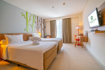 Grand Livio Kuta Hotel Bali - Superior Twin Room Only Promo Gajian