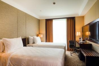 Swiss-Belhotel Serpong  Tangerang Selatan - Deluxe Twin Room Only Last Minute Deal 10%