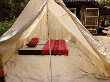 Watu Lumbung Culture Resort Yogyakarta - Executive Tent Minimum Stay