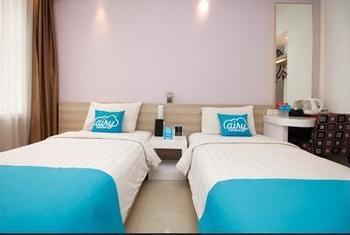 Airy Cipaku Setiabudi Bandung - Deluxe Twin Room Only Regular Plan