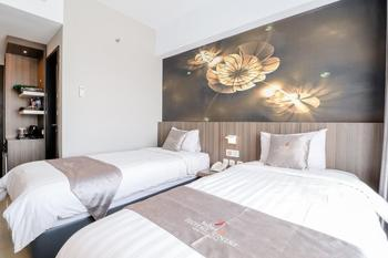 Hotel Unisi Yogyakarta Syariah Yogyakarta - Deluxe Twin Room Only NR Stay More, Pay Less