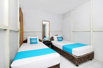 Airy Eco Syariah Pontianak Tenggara Imam Bonjol Gang Pandu 3A - Standard Twin Room Only Regular Plan
