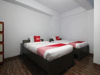 OYO 2176 Amanah Syariah Residence Bandar Lampung - Standard Twin Room Regular Plan