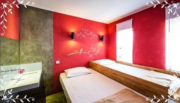 Kayun Hostel Bali - Standard Twin Bed Regular Plan