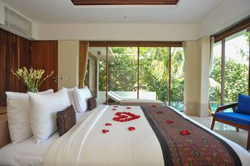 Komaneka at Keramas Beach Bali - Vila, kolam renang pribadi, pemandangan samudra Regular Plan