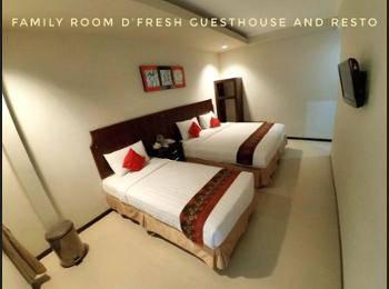 D'Fresh Guesthouse Malang - Family Room Regular Plan