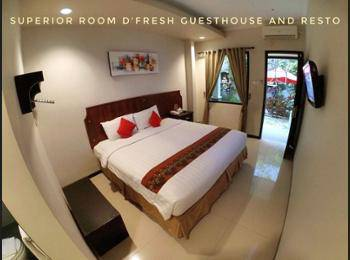 D'Fresh Guesthouse Malang - Superior Room Regular Plan