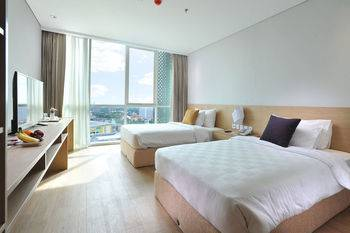 Midtown Residence Surabaya - Room, Twin Beds (Fabulous) Regular Plan