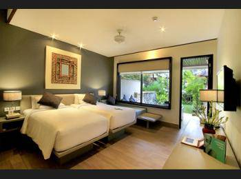 Novotel Bali Benoa - Deluxe Twin Room (Pool Side, Garden Wing) Regular Plan