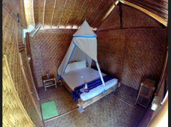 Same Same - Bungalows Lombok - Bamboo Bungalow, Fan Only Regular Plan