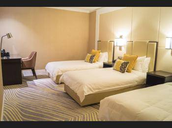 Ambassador Transit Hotel Terminal 2 - Triple Room (12 Hours Usage, 1 Hour Gym) Regular Plan