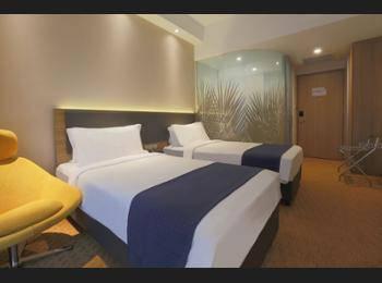 Holiday Inn Express Singapore Orchard Road - Standard Room, 2 Twin Beds, Non Smoking Regular Plan