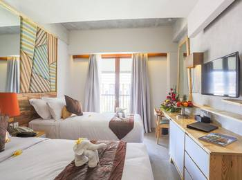 Serela Legian Hotel Bali - Deluxe Room Only Regular Plan