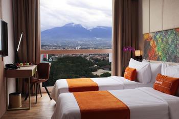 Bigland Hotel Bogor Bogor - Deluxe Twin Tanpa Sarapan Regular Plan