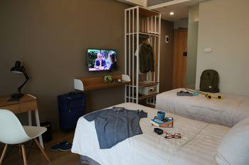 AllStay Hotel Semarang - Deluxe Twin Room - Room Only Promo Stay Hepi