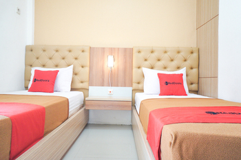 RedDoorz Syariah @ Buduran Sidoarjo Surabaya - RedDoorz Twin Room Regular Plan