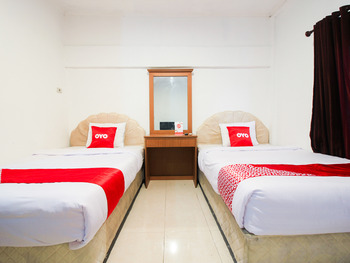 OYO 1905 Davonsa  Homestay Pekanbaru - Standard Twin Room Regular Plan