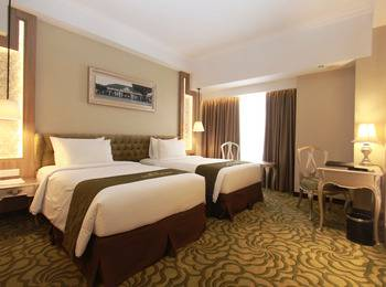 Grand Keisha Yogyakarta - Deluxe Twin Room Only Hot Deal 10%