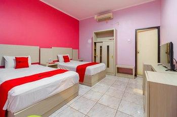 RedDoorz near RS RK Charitas Palembang Palembang - RedDoorz Twin Room with Breakfast Regular Plan