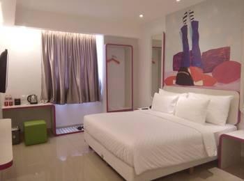 Uniq Hotel Jogja - Deluxe Double Bed Regular Plan