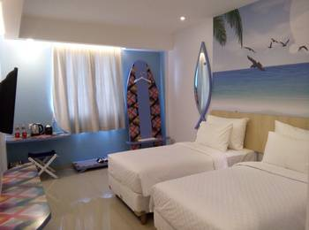 Uniq Hotel Jogja - Deluxe Twin Room only Early Deal