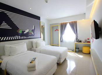 Uniq Hotel Jogja - Deluxe Twin Bed Early Deal