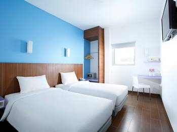 Amaris Nagoya Hill Batam - Smart Room Twin Special Promo Regular Plan