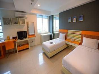 High Point Surabaya - Superior Twin Bed Room Only Regular Plan