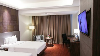 The Arista Hotel Palembang - Superior Twin Without Breakfast Regular Plan