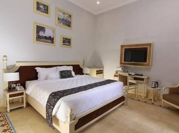 Java Villas Boutique Hotel And Resto Jogja - Deluxe Room Only Regular Plan
