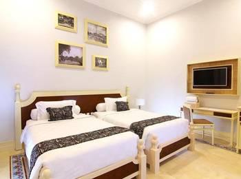 Java Villas Boutique Hotel And Resto Jogja - Deluxe Twin 2nd Floor Regular Plan