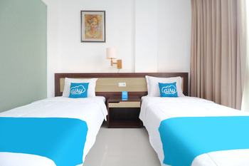 Airy Denpasar Utara Kepundung 62 Bali - Deluxe Twin Room with Breakfast Special Promo July 45