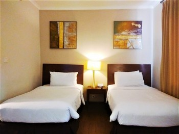 Ancol Marina Residence Jakarta - One Bedroom Deluxe Twin Room Only Regular Plan