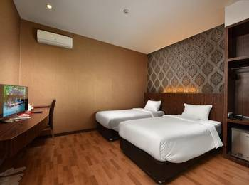 The Crew Hotel Kno Deli Serdang - Economy Class Twin Regular Plan