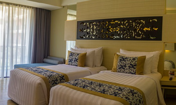 Swiss-Belhotel Tuban - Grand Deluxe Pool View Twin  Monthly Promotion